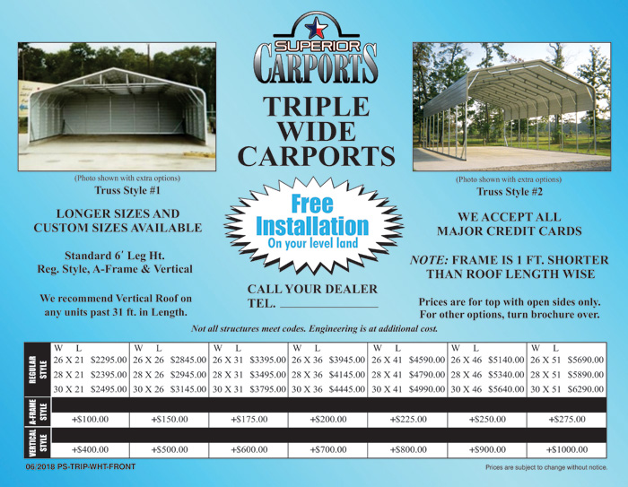 Carports - Triple Wide_Page_1